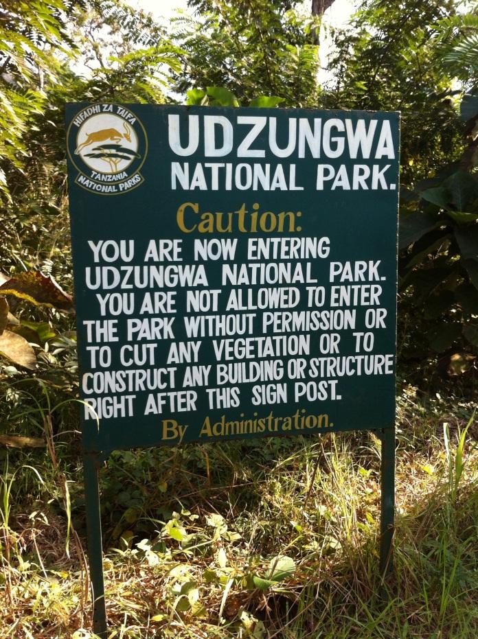 Udzungwa_fence